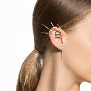 Alexis Bittar Jewelry - NEW Alexis Bittar Multi-Spike Ear Cuff & Post Set